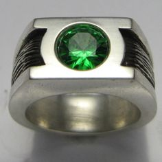 Green Lantern Wedding Ring Geek Rings Unusual