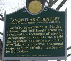Snowflake Bentley Museum in Jericho Vermont