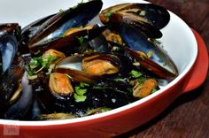 Cate Can Cook, So Can You!: Asian Style Mussels in the Thermomix Seafood Restaurant, Banting, Mussels, Asian Style, Eggplant, Cucumber, Food And Drink, Yummy Food, Beef