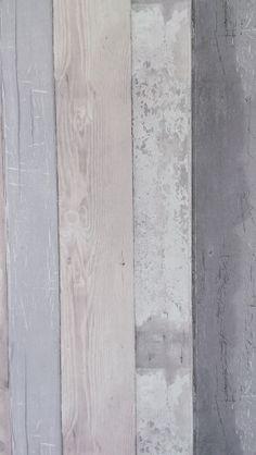 VT Wonen behang steigerhout