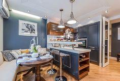 Кухня в морском стиле (42 фото) цвета морской волны, особенности интерьера, дизайн своими руками: инструкция, фото- и видео-уроки, цена
