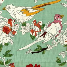 Bird Paint By Number Green