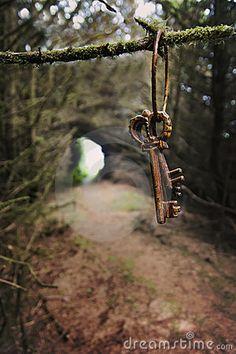 Antique Keys Secret garden