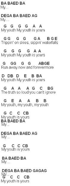 Flute Sheet Music: Youth