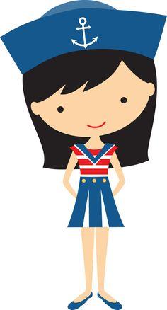 Black haired girl sailor