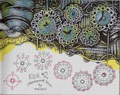 Klok #2-tangle pattern