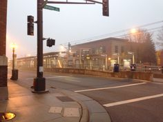 Green Line in the mist. 10.30.2013