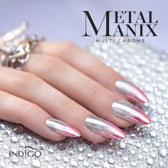 Top 40 Gorgeous Metallic Nail Designs That You Can Try To Copy - Page 12 of 45 - Nail Polish Addicted