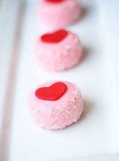 Valentines Petits Four