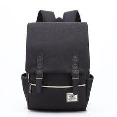 7395c63d6d Lasen bag 2018 Women Canvas Backpacks for Teenager Girls Men Casual Student  School Bag Fashion Travel