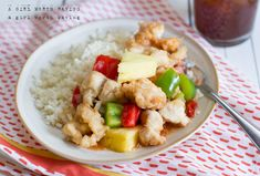 Delicious Paleo Sweet and Sour Chicken. This is a fun meal for getting together with a friend. Sweet and sour chicken tastes so good! The pineapple is an amazing addition for this meal. Paleo Chicken Recipes, Pork Recipes, Paleo Recipes, Real Food Recipes, Paleo Food, Free Recipes, Onion Recipes, Healthy Chicken, Sweet Sour Chicken