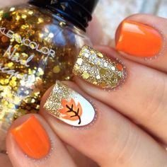 Fall nail art can brighten those gloomy fall days. To give you some inspiration, we created a collection of the freshest nail designs for this season!