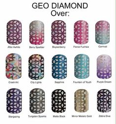 Geo Diamond and its many facets when layered over other wraps! #geodiamondjn #availablenow