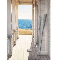 Fotobehang 416 Serenity Ideal Decor Strandhuis - Woonhandel
