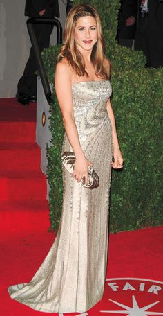 Jennifer Aniston in Valentino, 2009 in @InStyle Magazine