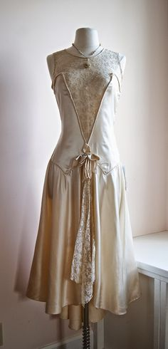 1920's wedding dress  at  Xtabay Vintage Clothing Boutique - Portland, Oregon
