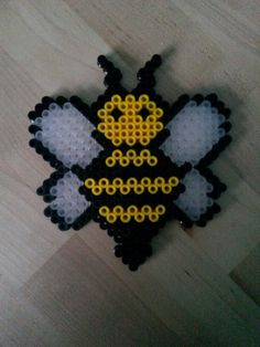 Bee hama beads by Thea P.