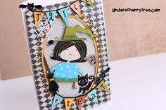 Lettering Delights - Trick or Treat Witch - cut with Silhouette