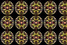Adinkra Mandala custom fabric by ak-wildenature for sale on Spoonflower Throw Cushions, Custom Fabric, Spoonflower, Fabric Design, Printing On Fabric, Mandala, Gift Wrapping, Wallpaper, Prints