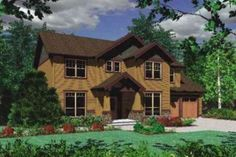 Craftsman Style House Plan - 5 Beds 2.5 Baths 2000 Sq/Ft Plan #48-162 Exterior - Front Elevation - Houseplans.com