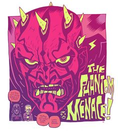 Star Wars The Phantom Menace by Dan Hipp Random House, Cartoon Network, Art Of Dan, Character Art, Character Design, Dc Comics, Star Tours, Bros, The Phantom Menace