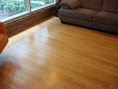 Flooring: Stranded Bamboo - Teragren's Synergy, in their Wheat color...  Beautiful and ecologically responsible.  What's not to love. Materials & installation by George's Carpet One (http://www.georgesc1.com) #flooring, #Bamboo, #Teragren