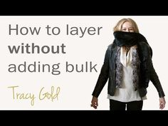 How to layer for fall for women over 40 - how to layer without adding bulk Image Makeover, Tracy Gold, Gold Fashion, Fashion Tips, Online Images, Layers, Ads, Youtube, Women