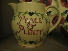 Emma Bridgewater Drink More Tea 1.5 Pint Jug made for Past Times