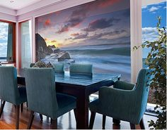XXL FensterBild Am Meer in Cornwall
