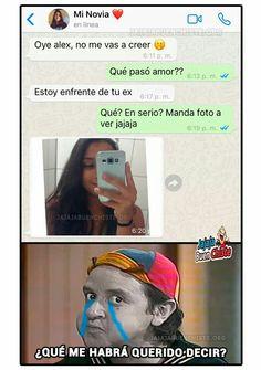 JAJA MARAVILLOSA JUGADA Wtf Funny, Funny Texts, Hilarious, Stupid Funny, Funny Spanish Memes, Spanish Humor, New Memes, I Cant Even, Pretty Little Liars