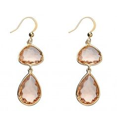 Dbl Crystal Drop Earring - Jewellery - Her - Accessories - Witchery