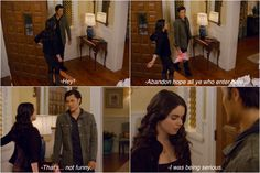 Switched at Birth. Bay and Ty funny scene :)!