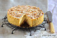 green fork vege: WEGAŃSKI SERNIK ZŁOTA ROSA Granola, Tofu, Cheesecake, Desserts, Tailgate Desserts, Deserts, Cheesecakes, Postres, Dessert