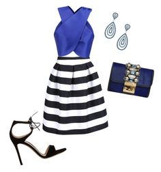 """""""Sin título #172"""" by shary-elivo on Polyvore featuring moda, Carven, Gianvito Rossi y GEDEBE"""