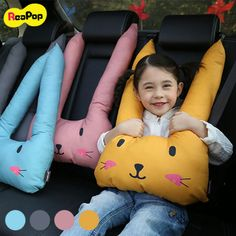 Sewing Projects For Kids, Sewing For Kids, Diy For Kids, Hand Embroidery Design Patterns, Kids Travel Pillows, Seat Belt Pillow, Kids Tents, Baby Necessities, Baby Pillows