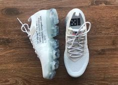 New images of the Off-White x Nike Air VaporMax White that is expected to release some time in 2018.