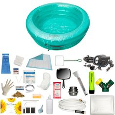 Oasis Round Complete Water Birth Kit Water Birth Pools And Tubs Accessories  From Your Water Birth