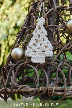 Crochet Basics, Crochet For Beginners, Crochet Round, Free Crochet, Crochet Granny, Origami, Crochet Christmas Ornaments, Holiday Crochet, Art Diy