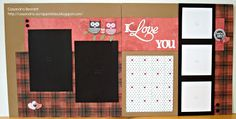 CTMH Roxie Valentine's Day Layout by cass768 - Cards and Paper Crafts at Splitcoaststampers