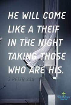 2 Peter Soon.Are you ready, watching and waiting? Jesus is coming soon.b ready! Bible Verses Quotes, Bible Scriptures, Faith Quotes, Jesus Is Coming, After Life, Favorite Bible Verses, Faith In God, True Faith, Way Of Life