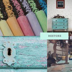 Τι χόμπυ να ξεκινήσω; 5 προτάσεις - ΧΕΙΡΟΤΕΧΝΙΕΣ Chalk Paint, Restoration, Create, Painting, Information Technology, Painting Art, Paintings, Painted Canvas, Drawings