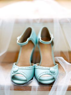 Savannah Soiree   The Happy Bloom   Blue wedding shoes