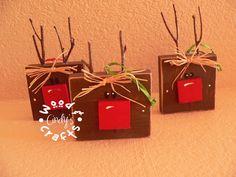 Rudolph wood blocks