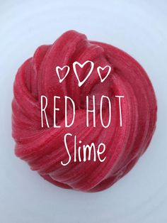 NOTHING says I LOVE YOU like slime! Give your valentine something they will remember....Tini Slime! Red Hot Love Slime is a beautiful bright red glitter slime that is so fun to squish, pop and stretch! What's not to love? Cinnamon Scent. Make it a gift! We ship our slimes adorably! At Tini