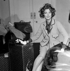 mimbeau:  Suzy Parker Vogue Chanel et Vuitton Henry Clarke Paris 1960s