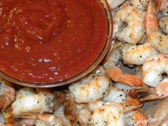 Roasted Shrimp Cocktail ~ Super Bowl food