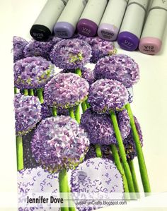 Yes, another must have! Copic just released the new color in the Multiliner family. Welcome Lavender !! I find that I don't have enough p...