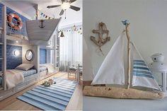 A menudo la decoración marinera se empareja con lugares cercanos al mar, sin embargo, nada más lejos de la realidad, este estilo puede integrarse también en la gran ciudad, y es que su versatilidad radica en su sencillez. Otro de los aspectos típicos de este estilo es que suele asemejarse a vivi