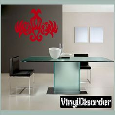 Flower Wall Decal - Vinyl Decal - Car Decal - CF12012
