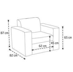 Image Result For Simple One Seater Sofa Dimension Furniture Chair Furniture Diy Sofa